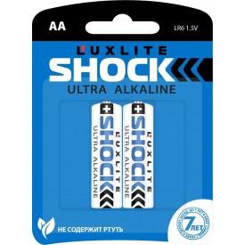 Батарейки Luxlite Shock (BLUE) типа АА - 2 шт.